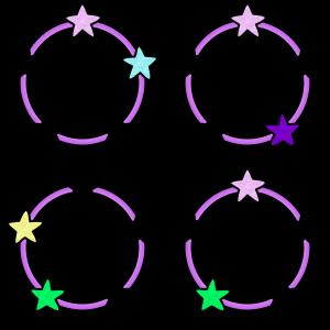 girly circles